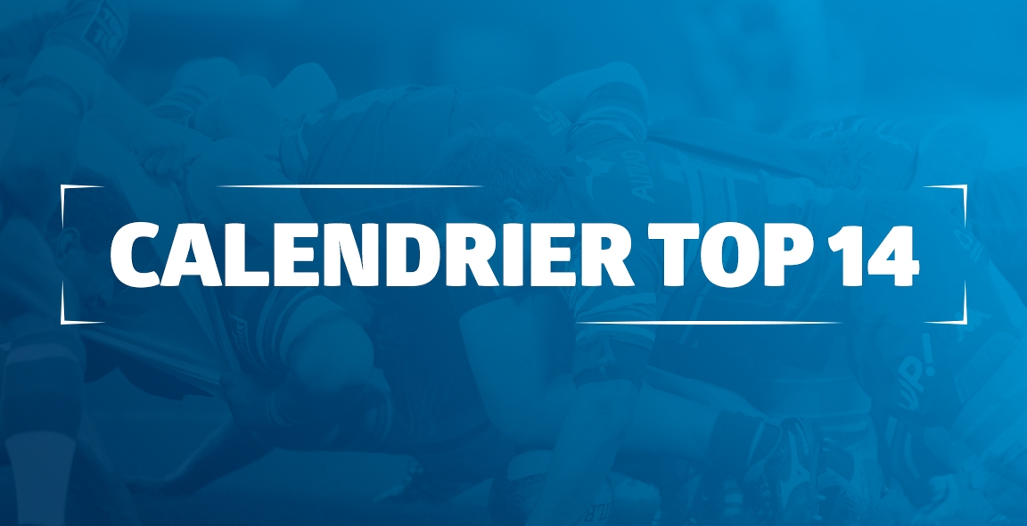 Calendrier Top 14 Rugby.Decouvrez Le Calendrier Top 14 2017 2018 Mhr